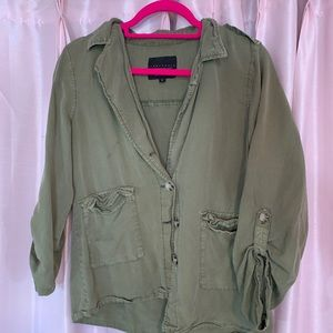 Army Crop Jacket by Sanctuary LA